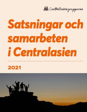 Centralasiengruppernas Aktiviteter 2021